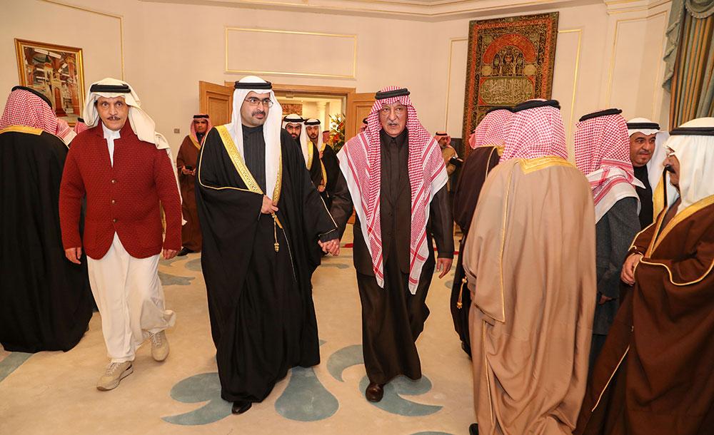 جريدة البلاد سمو محافظ الجنوبية يقدم واجب العزاء في وفاة الأمير بندر بن محمد بن عبدالرحمن