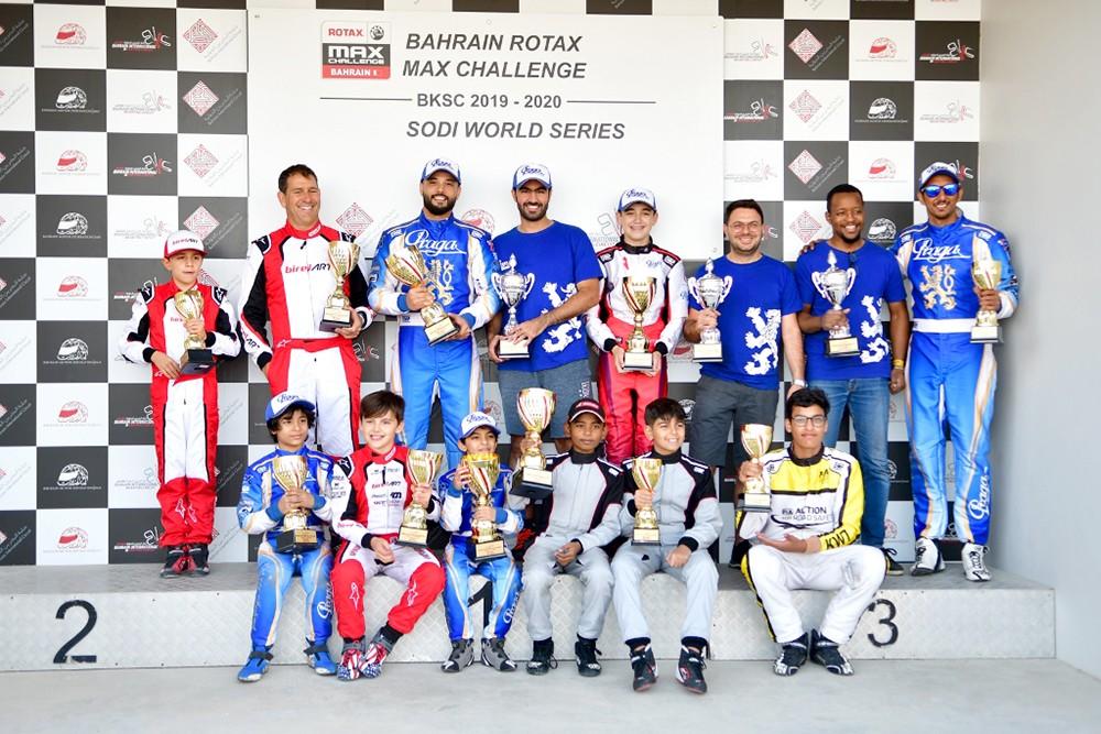 راشد المعمري يخطف الجولة الرابعة من بطولة تحدي الروتاكس ماكس للكارتنج