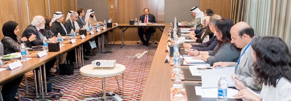ميرزا يترأس إجتماع لجنة الخطة الوطنية للطاقة المتجددة وكفاءة الطاقة