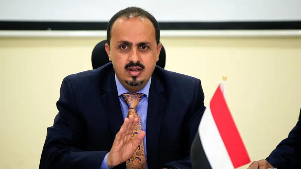 الإرياني: خفض عمليات الإغاثة رد طبيعي على الحوثي