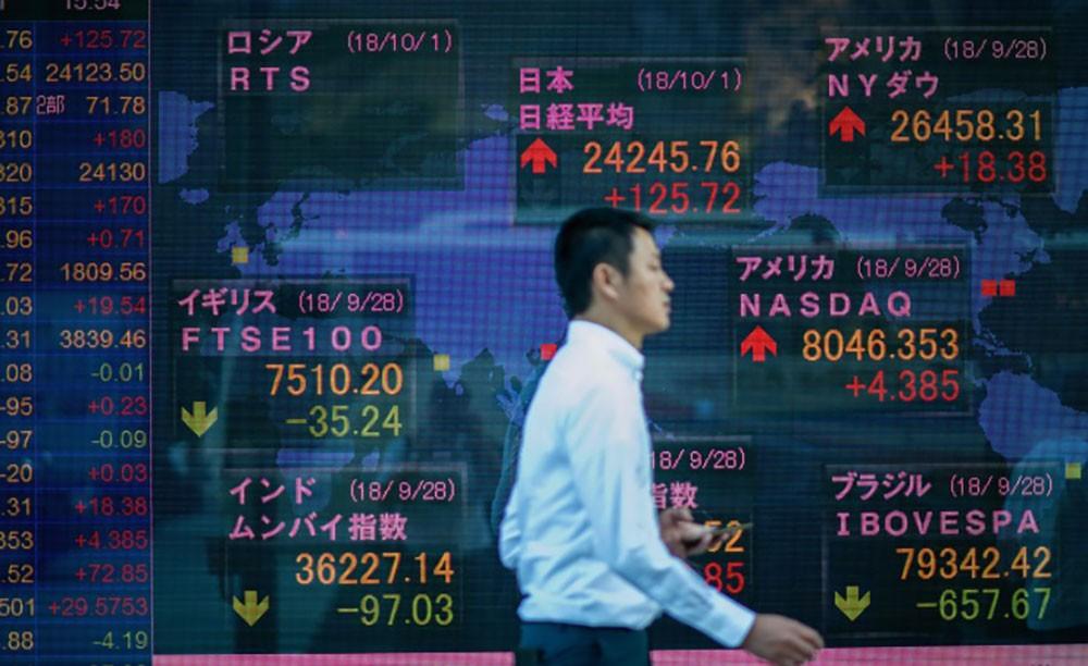 تراجع مؤشرات الأسهم اليابانية في بورصة طوكيو