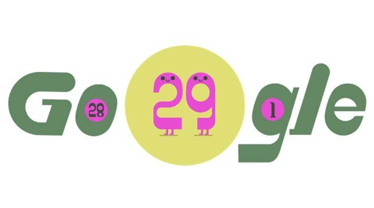 جوجل تحتفل بالسنة الكبيسة