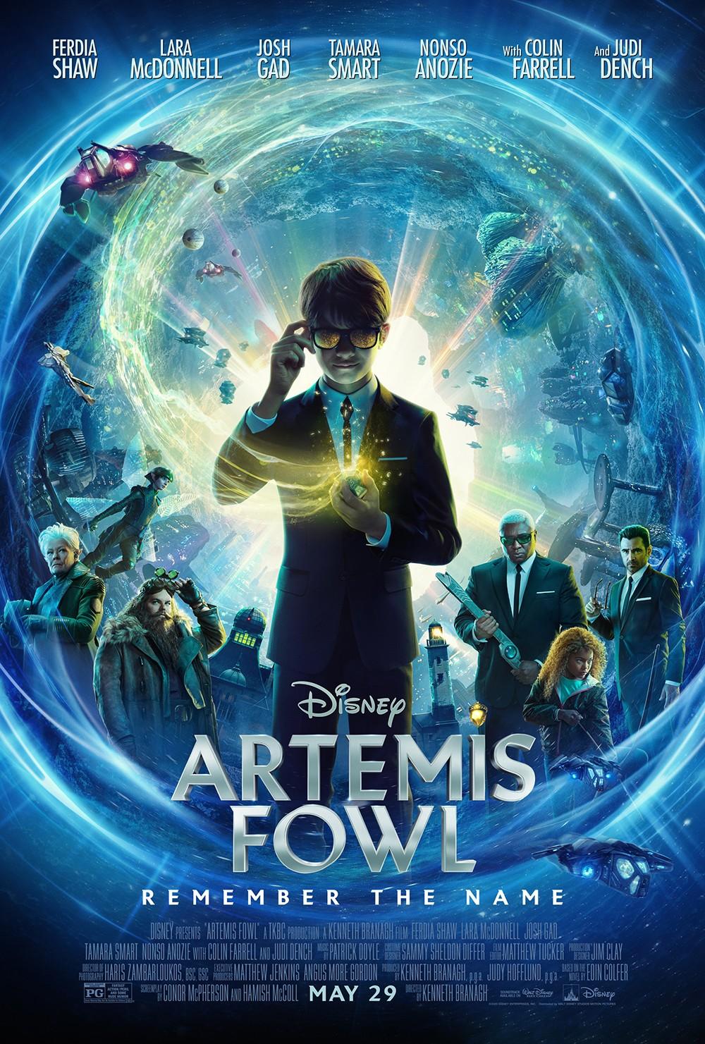 """الفيديو ترويجي والملصق الجديدَ لفيلم """"ARTEMIS FOWL"""""""