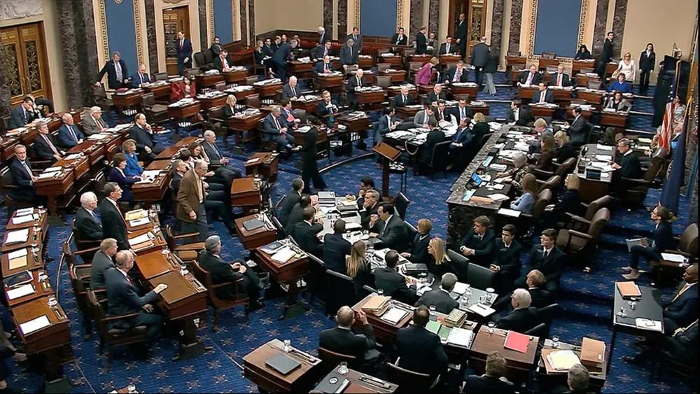 """""""الشيوخ"""" الأميركي يقر خطة التريليوني دولار لتحفيز الاقتصاد"""