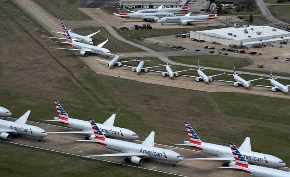 منظمة الإياتا: ثلث طائرات العالم مجمدة حالياً بسبب تفشي فيروس كورونا