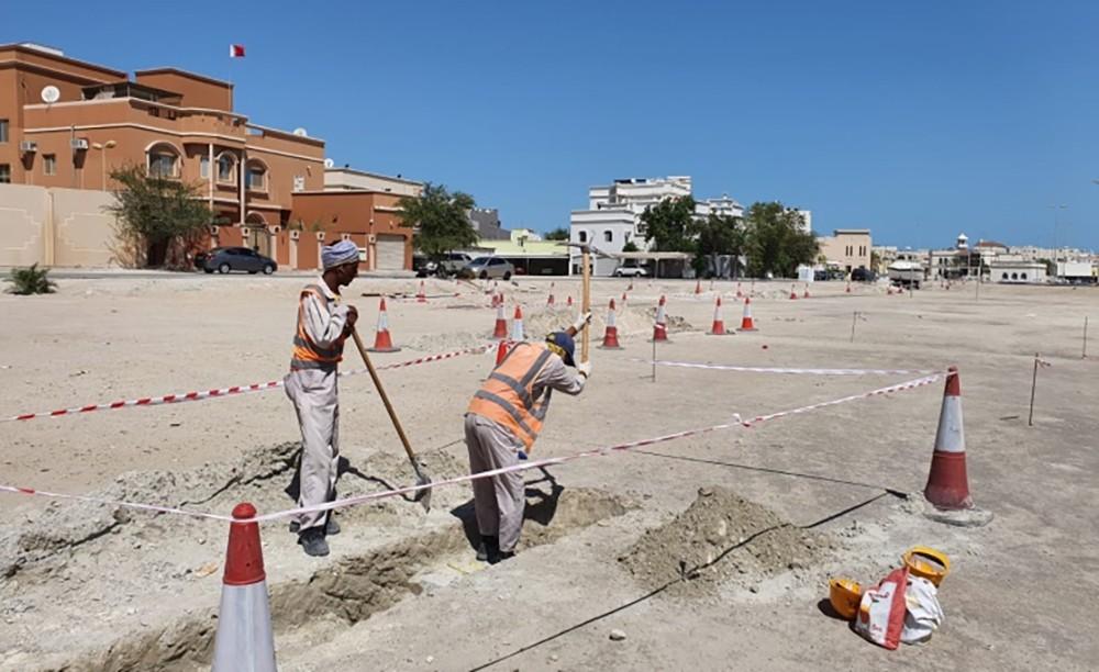 الأشغال: بدء المرحلة الاولى من تطوير شارع 47 في عراد
