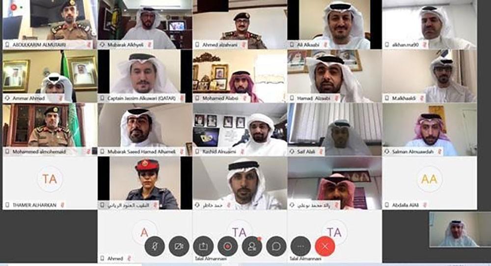 وفد من (مكافحة الفساد) يشارك في اجتماع استثنائي نظمه جهاز الشرطة الخليجية