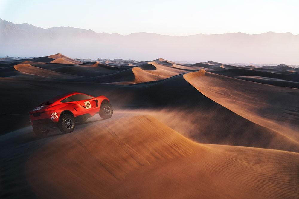 الإعلان عن فريق البحرين رايد إكستريم قبل انطلاق سباق رالي داكار 2021