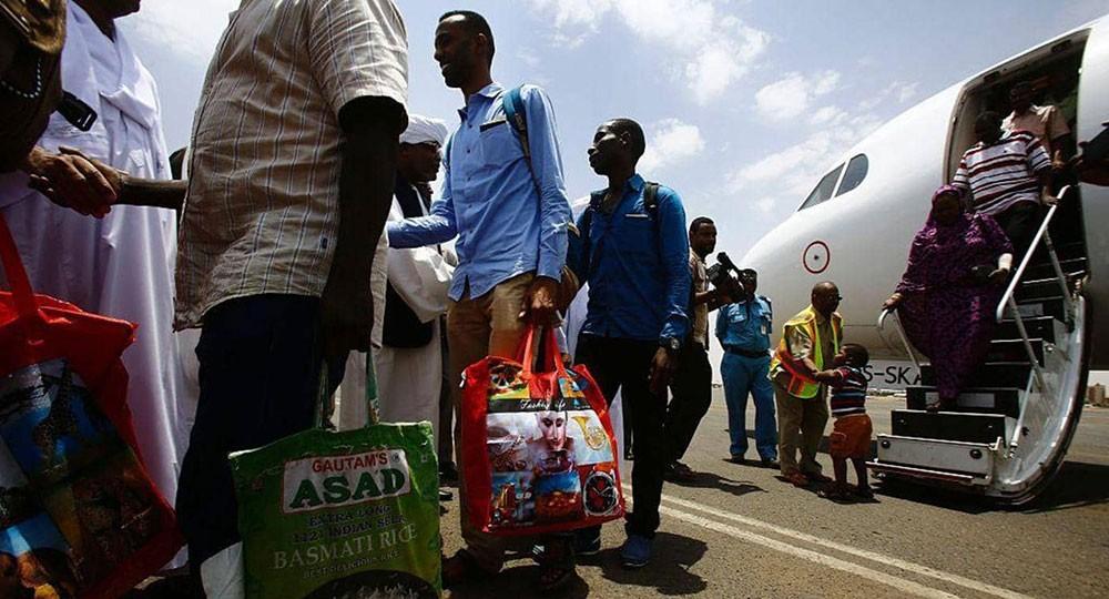 السودان يبدأ استقبال 10 آلاف عالق وسط إجراءات صحية مشددة