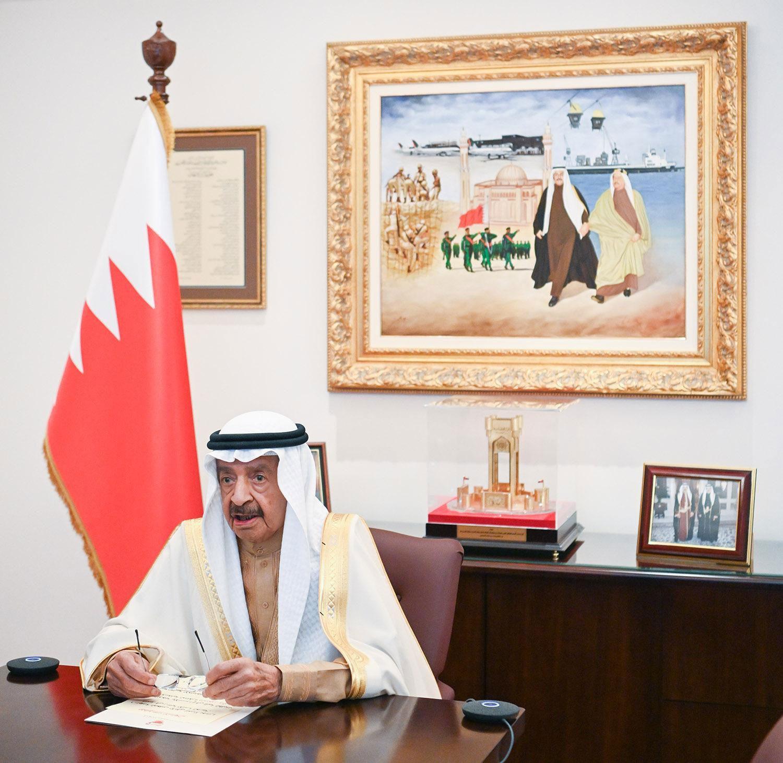 مجلس الوزراء يعرب عن تأييد البحرين ودعمها لمصر