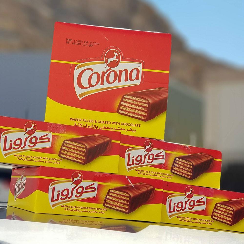 """ما قصة """"شوكولاتة كورونا"""" التي أنتجت قبل 100 عام ؟"""