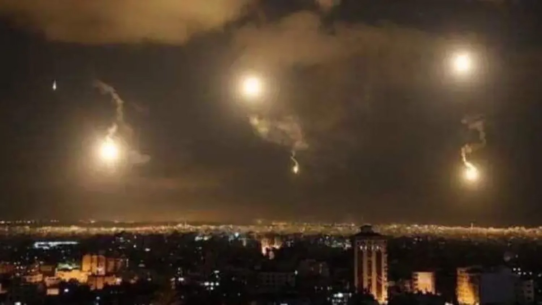دفاعات النظام اعترضت عدة صواريخ إسرائيلية في سوريا