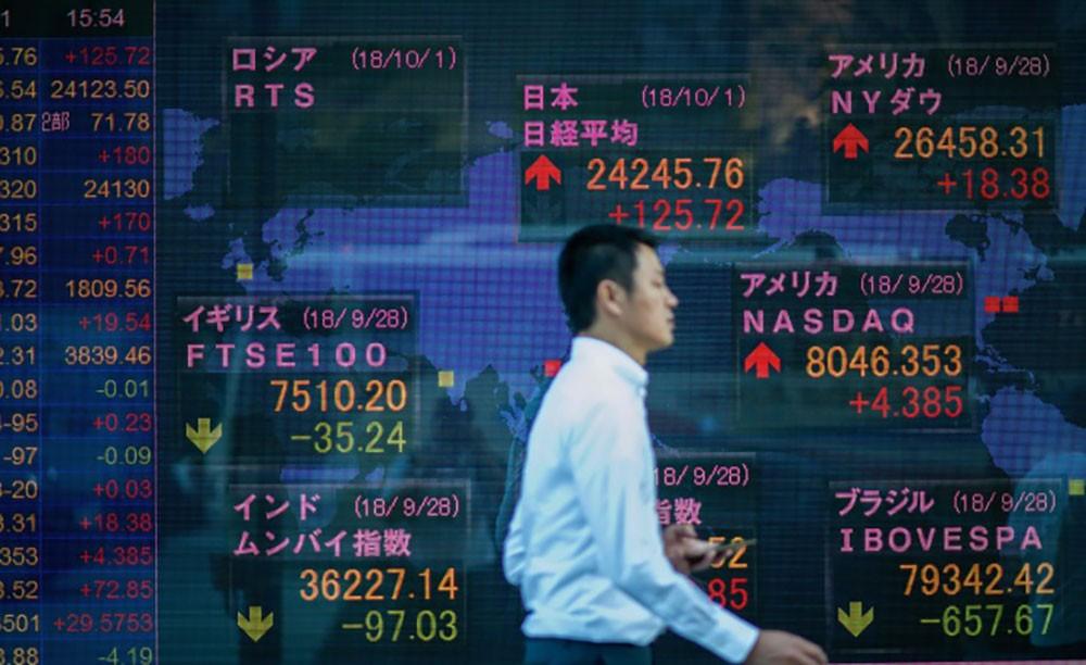 تراجع جماعي للأسهم الآسيوية وسط مخاوف بشأن تعافي الاقتصاد العالمي