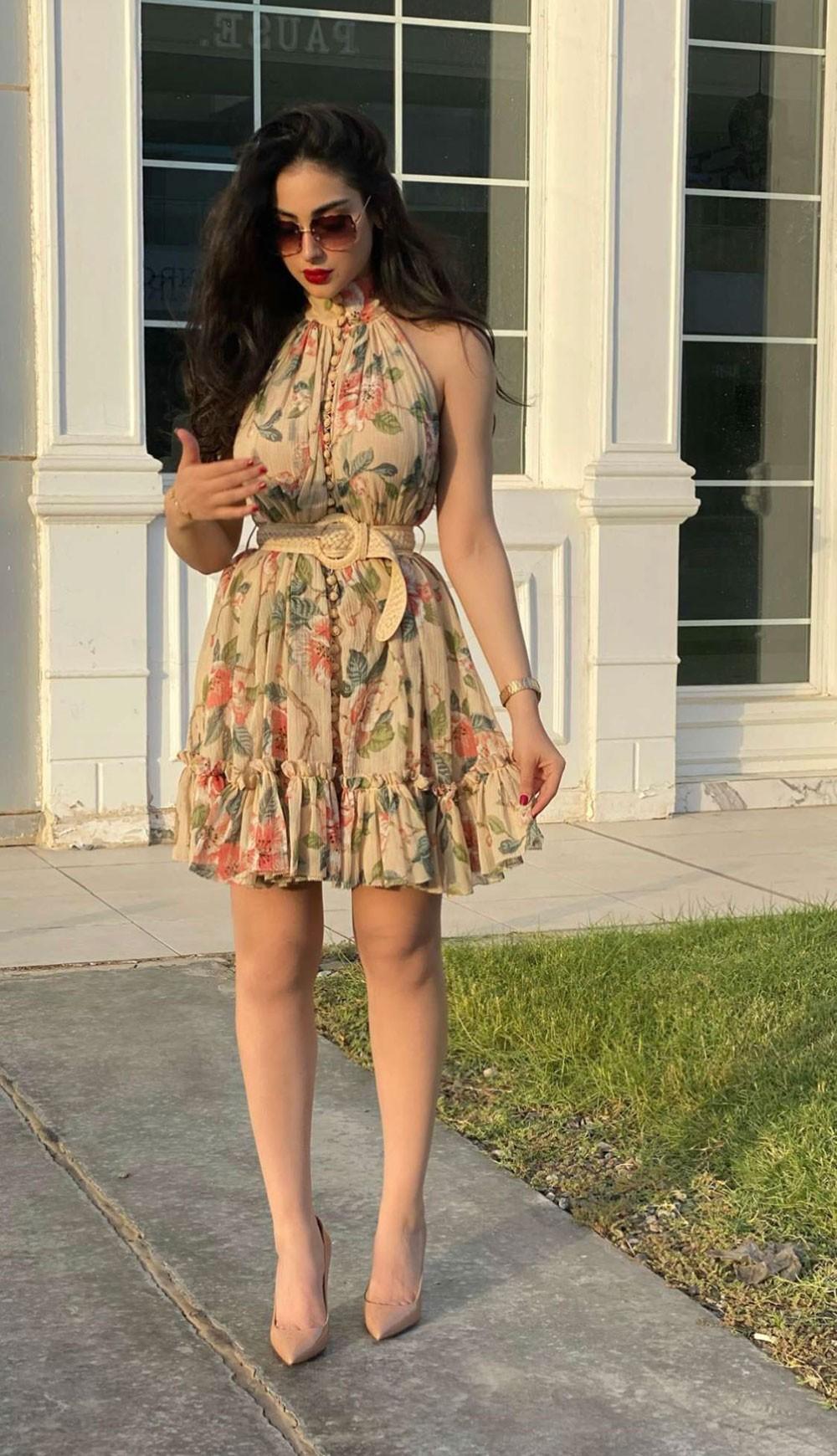 ترشيح البحرينية زينب العلوان كأجمل فتاة خليجية