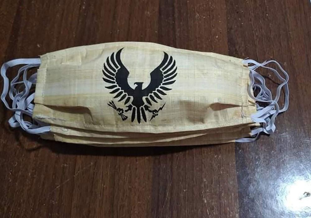 كمامات مصنوعة من البردي.. لتنشيط السياحة في مصر