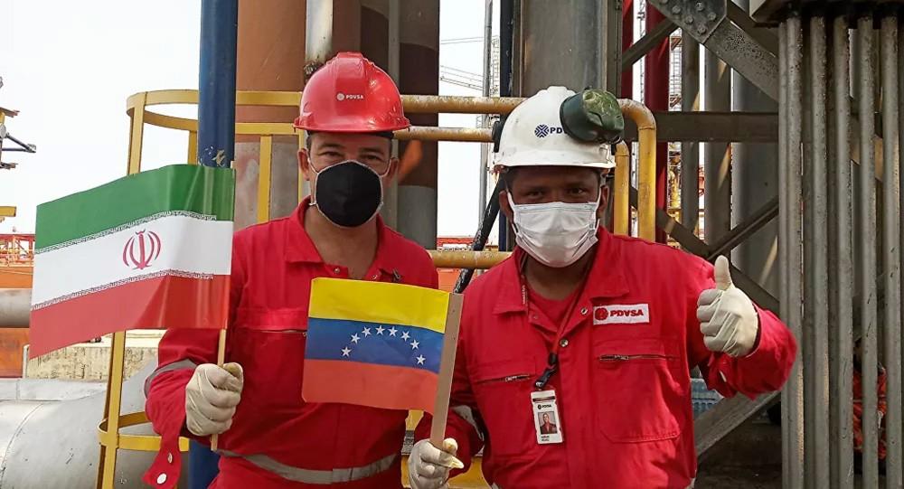 أمريكا ترفع دعوى لمصادرة بنزين في أربع ناقلات إيرانية متجهة إلى فنزويلا