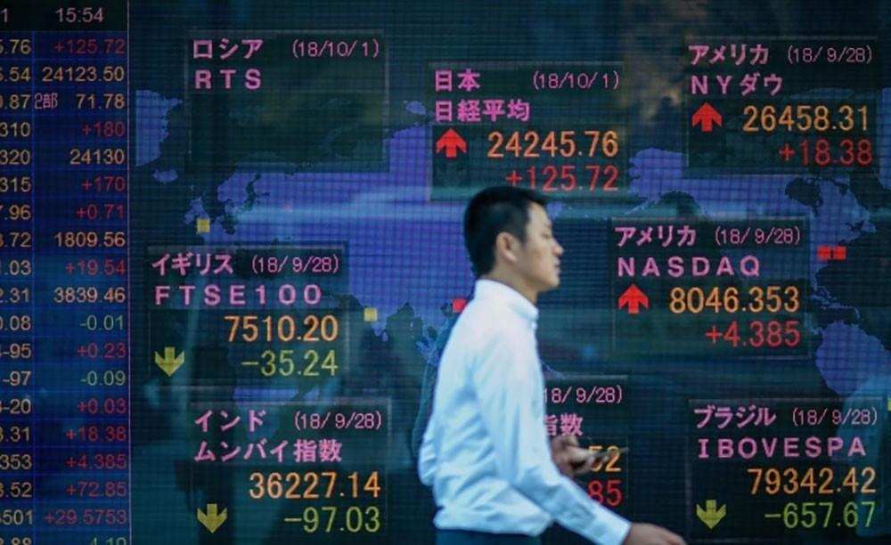 ارتفاع مؤشرات الأسهم اليابانية في بورصة طوكيو