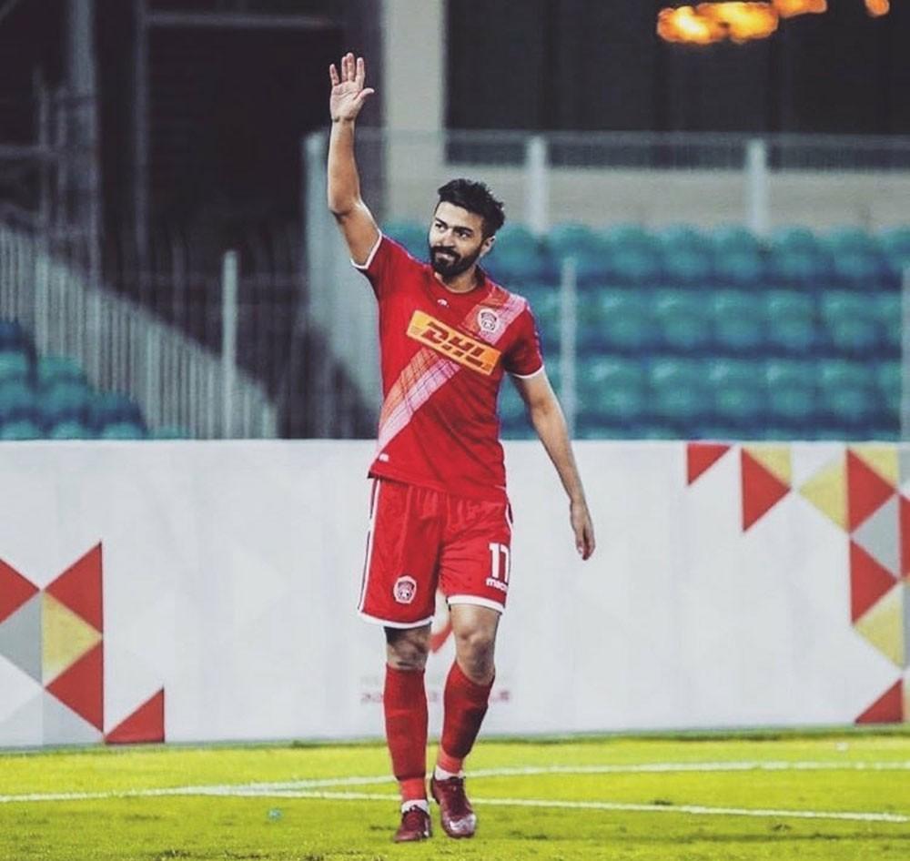 """""""كسر"""" يستدعي تدخلاً جراحيًا للاعب المحرق أحمد جمعة"""