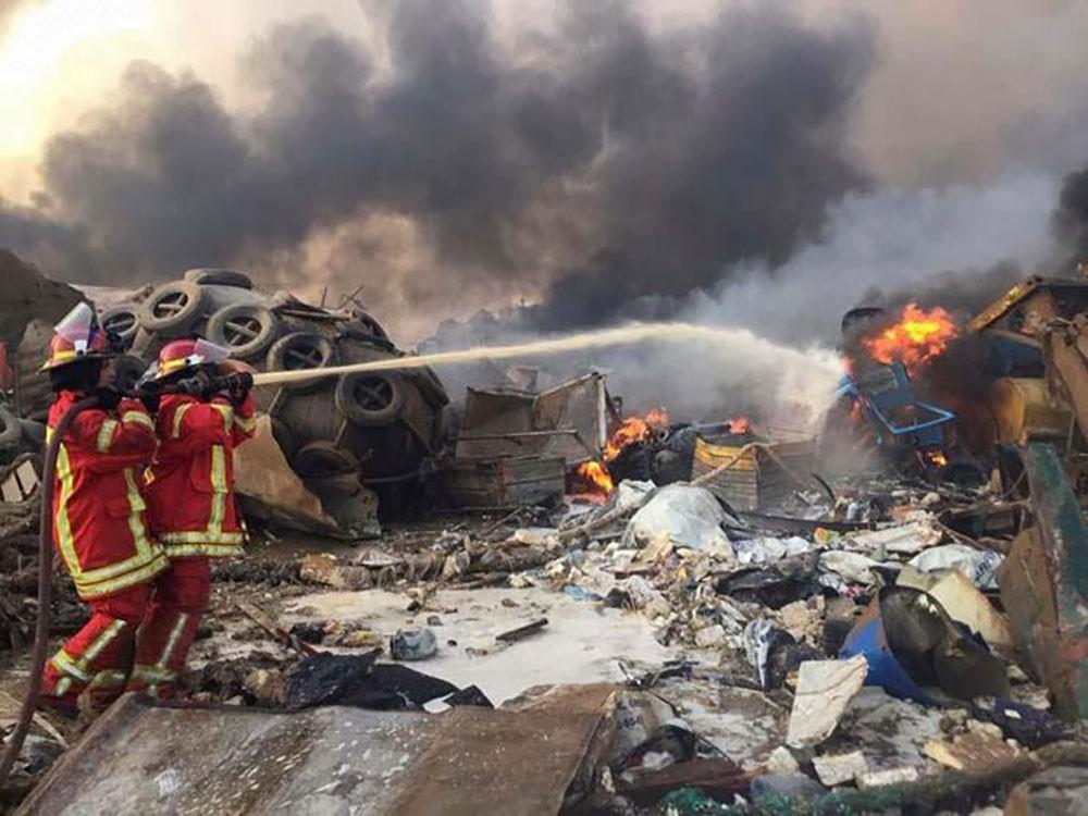 نجوم الفن يتضامنون مع انفجارات بيروت