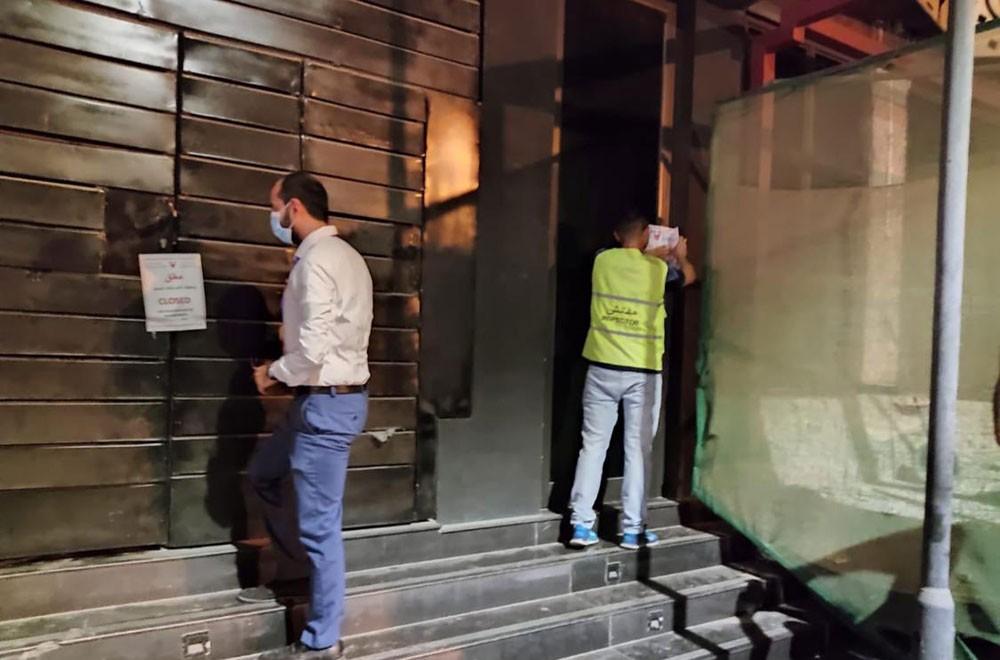 إغلاق أحد المطاعم السياحية بمنطقة العدلية