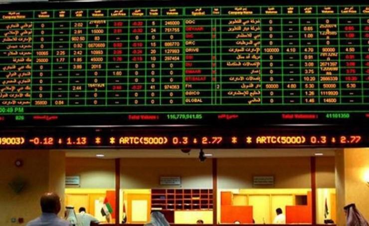 أسهم الإمارات تنهي الاسبوع على ارتفاع