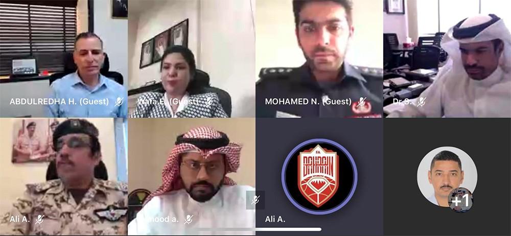 علي بن خليفة يترأس اجتماعًا دوريًا للجنة المنظمة للدوري المفتوح لكرة القدم