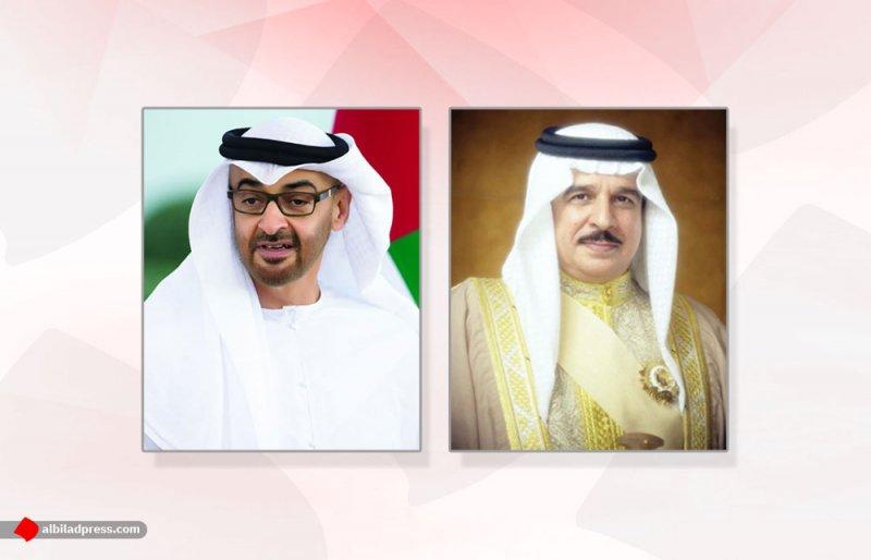 جلالة الملك المفدى يهنأ سمو الشيخ محمد بن زايد آل نهيان بخطوة السلام التاريخية