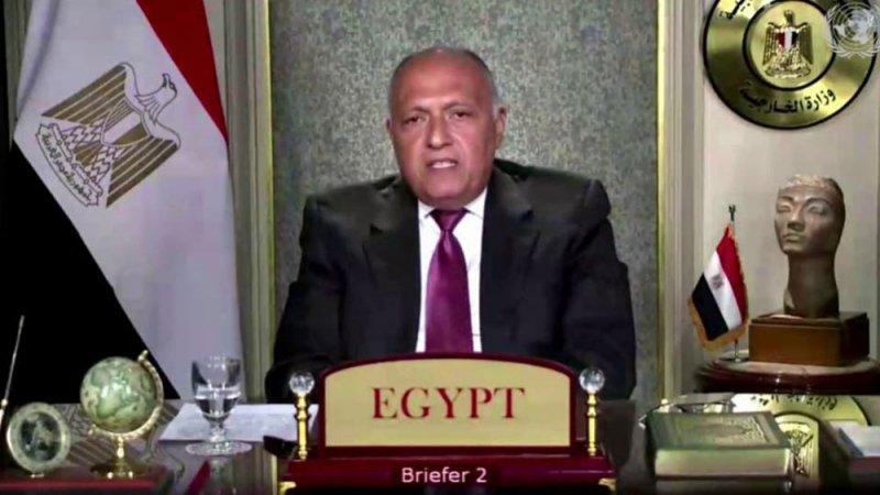 مصر تطالب بحل توافقي يحفظ سيادة ليبيا ويمنع التدخلات