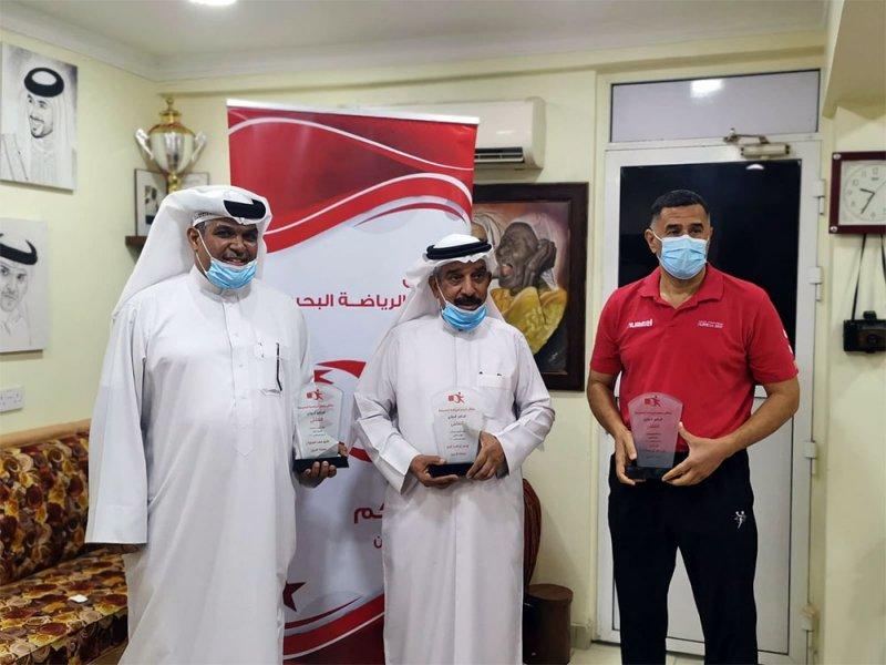 تكريم الفائزون بمسابقة ملتقى نجوم الرياضة البحرينية