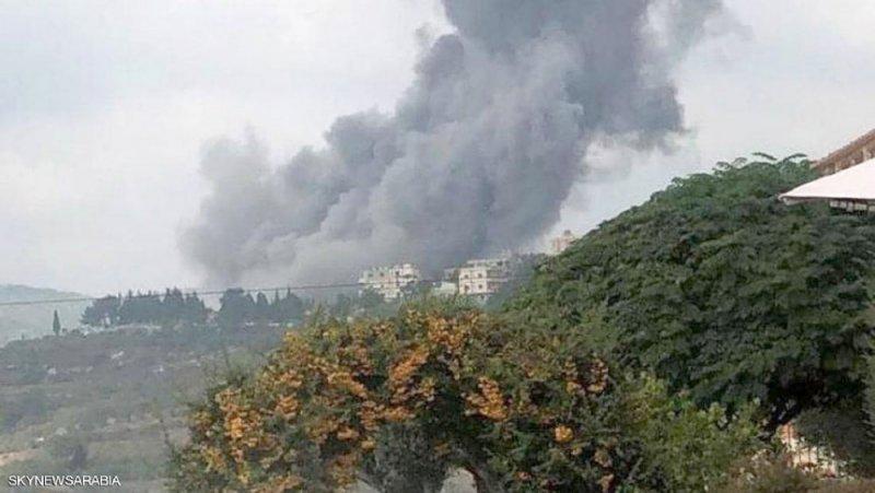 جنوب لبنان.. انفجار مريب داخل موقع لحزب الله