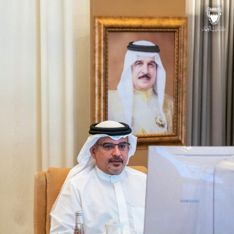 سمو ولي العهد الأمير سلمان بن حمد يترأس اجتماع اللجنة التنسيقية 349 والذي عقد عن بُعد