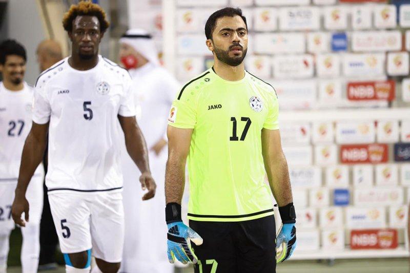 النجمة يجدد عقد الحارس عبدالله الكعبي موسمين