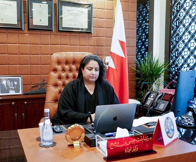 سعادة وكيل الخارجية تشارك بإحتفال مرور عام على إطلاق الاتحاد العالمي للشبكات الإقليمية للنساء الوسيطات