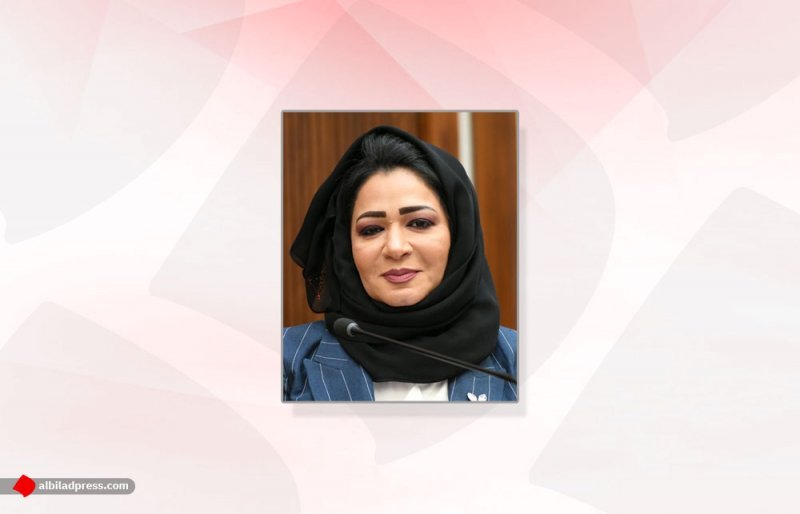 بالصورة: جميلة سلمان ناعية زوجها اللواء بوحمود: ستبقى بذاكرة البحرين وفي عمق روحي
