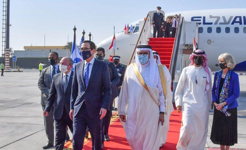 اجتماعات موسعة بحرينية أمريكية إسرائيلية بالمنامة