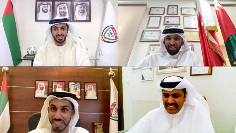 علي بن خليفة وراشد بن حميد يبحثان تعزيز التعاون المشترك