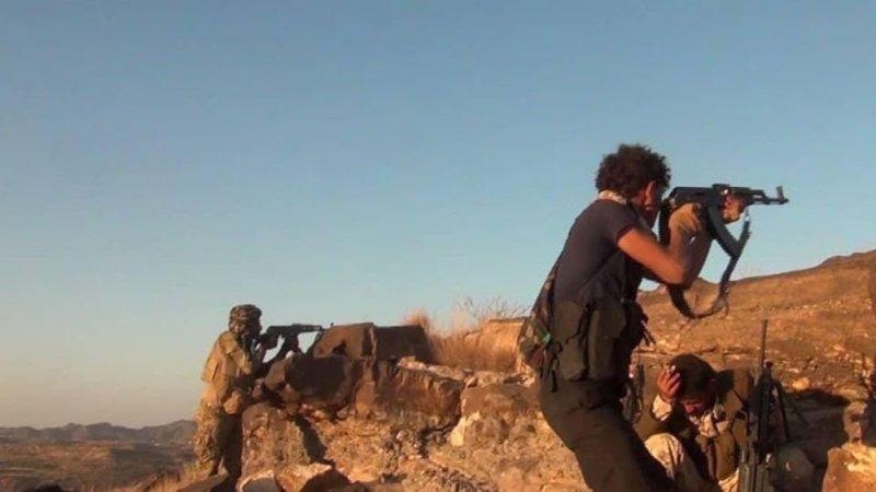 هجوم موسع من الجيش اليمني على مواقع الحوثيين في الضالع