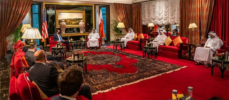وزير المالية: مواصلة ترسيخ أسس التعاون بين البحرين وأمريكا بما يحقق التطلعات المشتركة