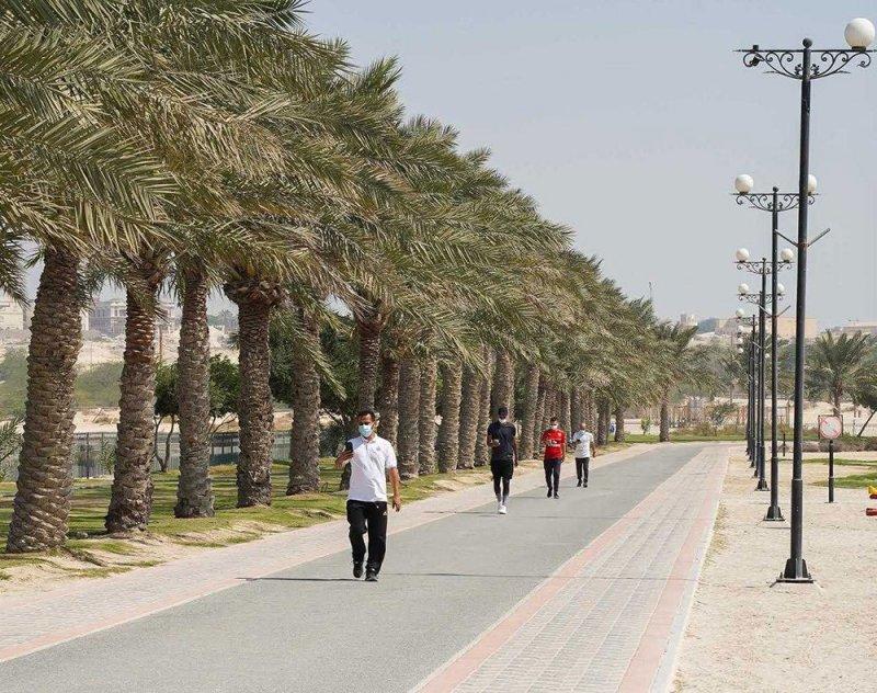 الجنوبية تنظم فعالية المشي بالتعاون مع الاتحاد الرياضي للأمن العام