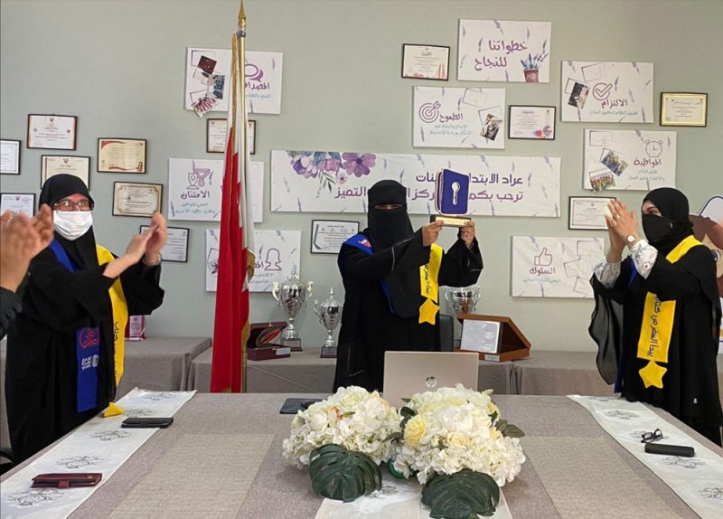 ابتدائية عراد للبنات أفضل مدرسة بحرينية في تحدي القراءة العربي