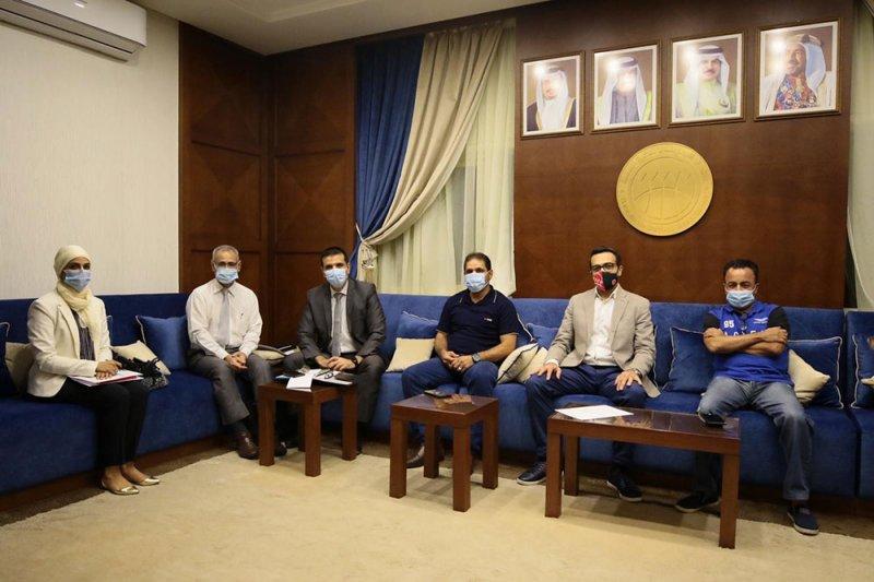 توزيع المناصب في الاجتماع الأول للجنة حكام السلة