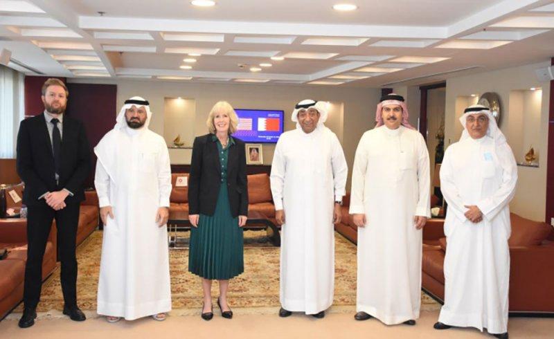 رئيس الغرفة يبحث سبل تطوير علاقات الشراكة البحرينية الأمريكية في جميع المجالات
