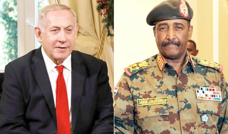 وصول أول وفد إسرائيلي للسودان