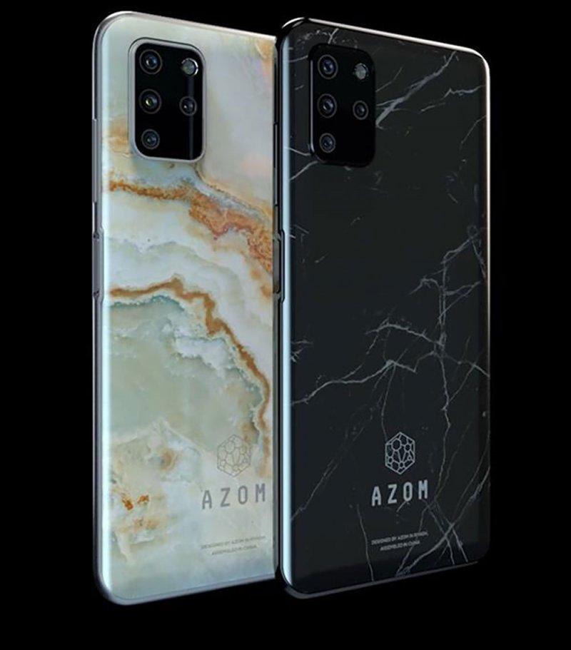 شركة سعودية تطلق هاتف ذكي بأسم AZOM DESERT2