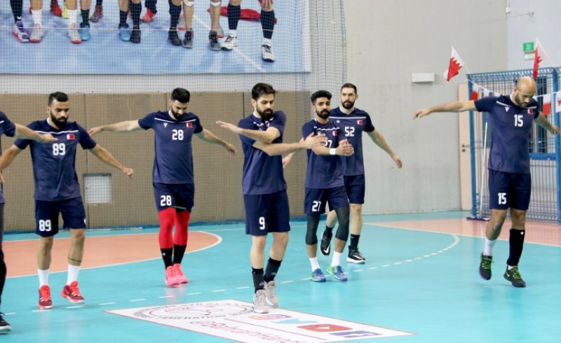 المنتخب البحريني يواصل استعداداته للمشاركة في بطولة كأس العالم لكرة اليد