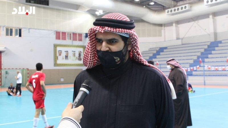 سمو الشيخ عيسى بن علي يشد من عزيمة منتخب المحاربين