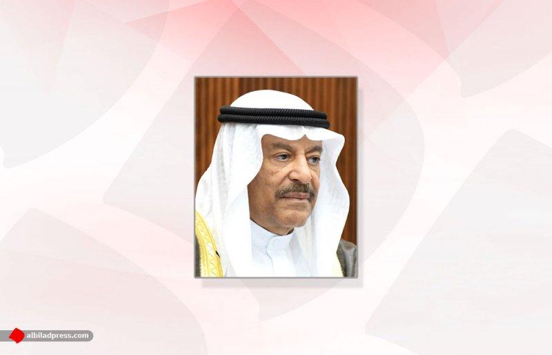 الصالح يثمّن جهود الحكومة الموقرة في الإفراج عن البحارة البحرينيين المحتجزين في قطر
