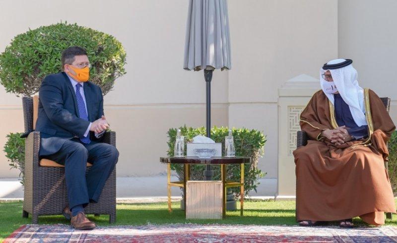 سمو ولي العهد رئيس مجلس الوزراء: ما يجمع البحرين والمملكة المتحدة الصديقة من علاقات ثنائية مميزة دليلٌ على متانة أسس التعاون المشترك