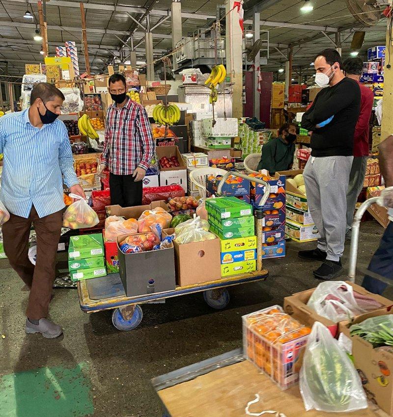 منع أي عامل من مزاولة عمله في السوق المركزي من 15 فبراير