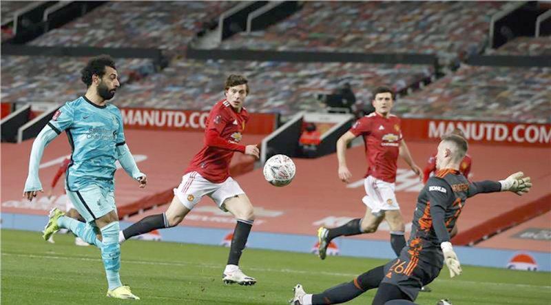 مانشستر يونايتد يقصي ليفربول من كأس الاتحاد الانجليري